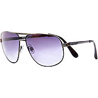 Black Jeepers Peepers aviator sunglasses