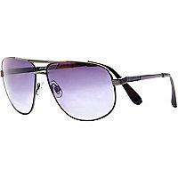 Black Jeepers Peepers aviator sunglasses