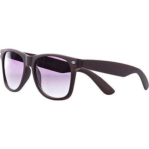 Brown Jeepers Peepers retro sunglasses