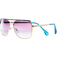 Metal Jeepers Peepers aviator sunglasses