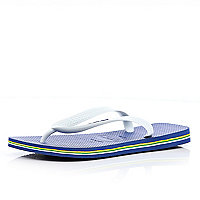 Blue layered sole Havaianas