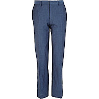 Blue Life Of Tailor suit trousers