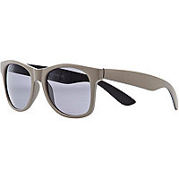 Grey retro sunglasses