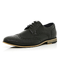 Black classic lace up brogues