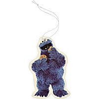 Blue Cookie Monster car air freshener