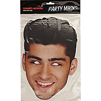 Zayn Malik One Direction novelty face mask