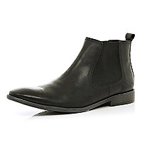 Black Base London chelsea boots