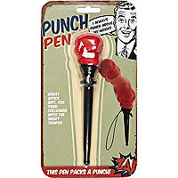 Novelty punch pen