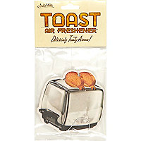 Toast car air freshener