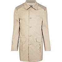 Stone Holloway Road smart mac jacket