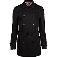 Black belted smart jacket