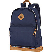 Blue contrast base backpack