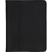 Black croc flip iPad case