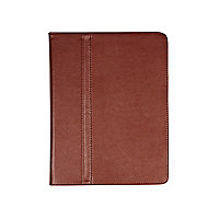 Brown iPad flip case