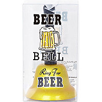 Ring for beer novelty bell