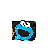 Black Cookie Monster wallet