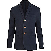 Navy lightweight blazer