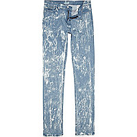 Light acid wash Sparks skinny jeans