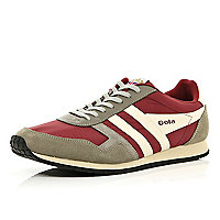 Red Gola retro trainers