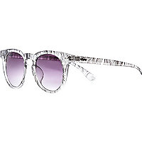 Clear Quay printed sunglasses
