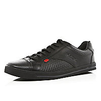Black Kickers lace up shoes