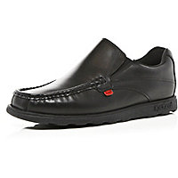 Black Kickers slip on shoes