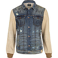 Mid wash Holloway Road denim jacket