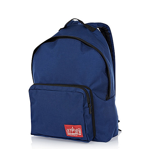 Navy Manhattan Portage backpack