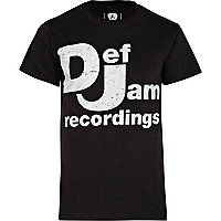 Grey Amplified Def Jam print t-shirt