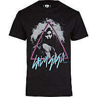 Grey Amplified Lady Gaga print t-shirt
