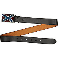 Black flag plate belt