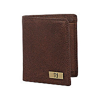 Brown RI tab wallet