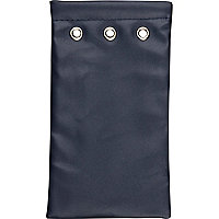 Dark blue sunglasses pouch
