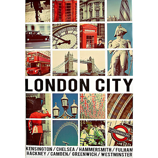 London City canvas print