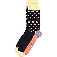 Black polka dot Happy Socks