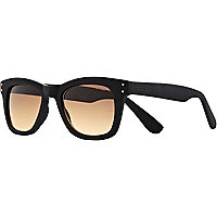 Black Komono retro sunglasses