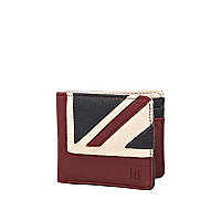 Red Union Jack wallet
