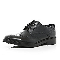 Black Base lace up brogues