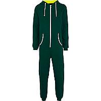 Green festival checklist onesie