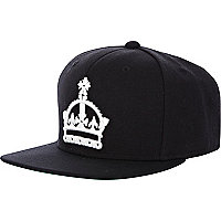 Black ATT Prime crown trucker hat