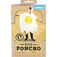 Novelty egg poncho