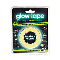 Novelty glow tape