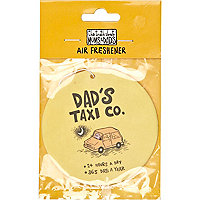 Dad's taxi car air freshener