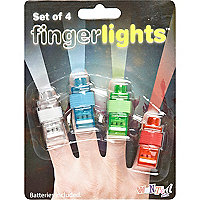 Novelty finger lights pack