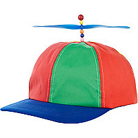 Novelty heli-cap
