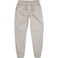 Light grey jogger trousers
