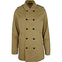 Light brown Jack & Jones Premium trench coat