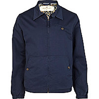 Blue Bellfield harrington jacket