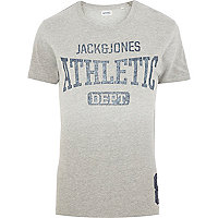 Grey Jack & Jones Vintage athletic t-shirt