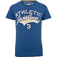 Blue Jack & Jones Vintage athletic t-shirt